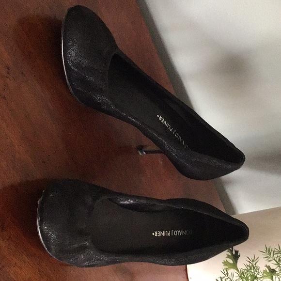 41342cf99f Donald J. Pliner Shoes | Donald J Pliner Black Kitten Heel Pumps ...